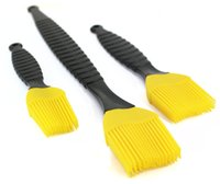 Wholesale Silicone BBQ Brush Silicone brush and Pastry brush Bbq Brushes Durable Heat Resistant BBQ Brush Pack of