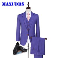 2017 Worsted Lana Suits Suit Custom Made Suit Sposo Tuxedos Suit Made Groomsman Suit Slim Fit Matrimonio Per Uomini 3 Pezzo