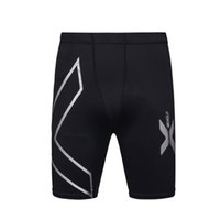 Wholesale tights shorts for men - Wholesale- Summer Running Sport Mens Tight Compression Shorts Gym Fitness Clothing Workout Wicking Short Pant Homme for Men