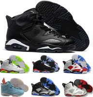Wholesale Real Discount - Newes Retro 6 VI Basketball Shoes Women Men Real Replicas Man Retro Shoes 6s VI Hombre Outdoor Discount Basket Sneakers