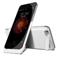 Wiederaufladbare Telefon Ladegerät Fall Kaufen -7000mAh wiederaufladbare Backup Power Bank Akku Charge Cover Case für Apple iPhone 6 6s Externe Ladegerät 4.7 5.5inch Telefon Fall