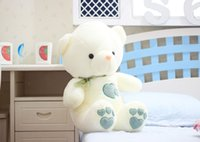 Wholesale Super Large Teddy Bear - 2016 2017 new super cute large plush toys dolls love hugging boys and girls birthday gift teddy bear