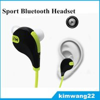 Wholesale iphone 7 headphones for sale – best In ear Bluetooth Headphone Bluetooth Stereo Earphone Fashion Sport Running Headsets Studio Music Earphone With Mic for iphone plus