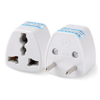 Wholesale British Socket - Power adapter European regulation adapter European regulation to the British regulations German German standard socket adapter