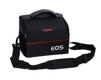 Wholesale Camera Case Shoulder Bag - Waterproof Camera Bag Camera Case shuolder bags for Canon EOS DSLR for 60D 760D 650D 6D 70D 80D 1200D