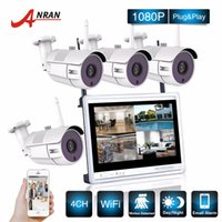Wholesale security cameras nvr - ANRAN P2P CCTV P CH NVR Inch LCD Monitor IR Outdoor IP WIFI Camera Surveillance Security Wireless System Kit