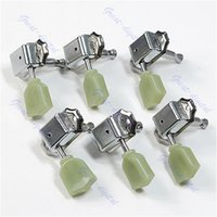Wholesale Deluxe Tuning Pegs - Wholesale- New Guitar 3R 3L Deluxe Tuning Pegs Machine Heads Tuners For Style