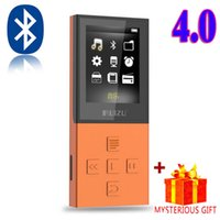 Wholesale Lcd Card Reader - Wholesale- Ruizu X18 Lossless Mp-3 Digital Sport Audio Flac Hifi Mp 3 Mini Music Mp3 Player Bluetooth Radio FM 8GB With Screen Lcd Wav Wma