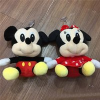 """Wholesale Minnie Mouse Plush Toys - Hot Sale 8"""" 20cm Mickey Minnie Mouse High quality new Lovely Plush Toy Doll Christmas birthday gift"""