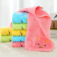 Wholesale Ordering Bamboo Cotton Wholesale - Best gift Cotton towel thickened children's hand towel full yarn yarn bamboo fiber TL014 mix order as your needs