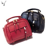 Wholesale Discount Leather Messenger Bags - Solid Zipper Star Mini Ladies Messenger Weave Handbag Quality Fashion Bag New Low Discount Women Cheap Hot Wholesale Handcraft Package