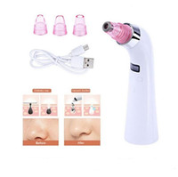 Wholesale Beauty Care Instruments - 4 IN 1 Comedo Blackhead Vacuum Suction Diamond Dermabrasion Removal Scar Acne Pore Peeling Facial Skin Care Beauty Instrument