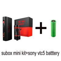 kanger subtank mini kit de arranque al por mayor-Kanger Subox Mini con batería vtc5 sony Kangertech Starter kit con mini subtank vs topbox mini kit 0266016