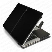Wholesale apple macbook leather case resale online - 100PCS PU Leather Shockproof Folio Book Wallet Case Cover for Apple Macbook Air Pro quot quot