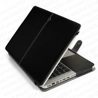 100PCS Кожа PU Shockproof Folio Book Кошелек для Apple MacBook Air Pro 11 '' 12 '' 13