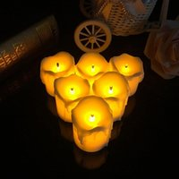 Candele operate a batteria Candele decorative luminose ultra lucide Led Flameless Marriage Wedding Christmas Decoration