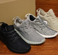 Wholesale Dive Breathing - 2017 Boost 350 v1 2018 New Kanye West 350 Boost Breathe Running Shoes Turtle Dove Pirate Black Moonrock Oxford Tan For Mens Womens