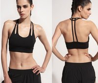 Wholesale prefessional Jogging Yoga bra woman Slim Fitness bra Top Quick drying shockproof sports underwear Vest Sleeveless bestselling