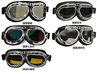 Wholesale Cart Bike - Universal Scooter Goggles Motorcycle Motorbike Glasses Ski Dirt Bike Cycling Carting Goggles Motocross Glasses Sunglasses Mirror Glasses