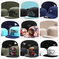 Wholesale Gold Embroidered Snapback - 2017 New Arrival Cayler & Sons Snapback Caps Adjustable Men Women Fashion Hats sky blue,navy blue,army green,white,black Embroidered Caps