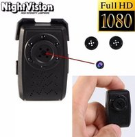Wholesale Covert Button Camera - Full HD Button Spy camera with Night Vision 1080P mini button camera hidden camcorder Video Recorder 365 days loop recording Covert mini DVR