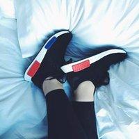 Wholesale Cities Pvc - Originals NMD Runner R1 Mesh Triple black White Cream Salmon City Pack Men Women Running Shoes Sneakers NMD Runner Primeknit sports shoes