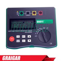 Wholesale Grinding Soil - Duoyi DY4300A 4-Terminal Digital Ground Resistance Tester Soil Resistivity Tester 0.05-20.99K ohm 0.2-395.6K ohm*m