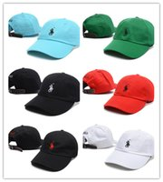 Wholesale Polo Ball Caps - hot fashion Retro Casquette visor polo Embroidery bone baseball cap women sport snapback caps drake palace 6 panel god polo hats for men