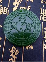Wholesale Hotan China - Free shipping China's xinjiang hotan jade antique pendant B117