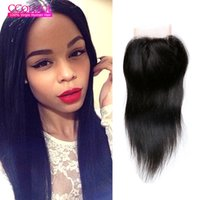 Wholesale Brazilian Virgin Huamn Hair - Ccollege Hair Products Malaysian Lace Closure Virgin Hair Malaysian Closure Straight With Bleached Knots Lace Closure 100% Huamn Hair