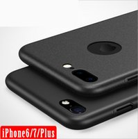 For Apple iPhone TPU Black Full package matte new protective cover for Apple iphone7 iphone6 plus phone shell