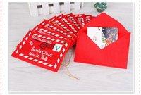 weihnachtskartenkunst großhandel-Art- und Weisekarikatur-neues Jahr-Weihnachtsumschlag-Weihnachtskarten-Süßigkeits-Beutel-Weihnachtsdekorationen für Haus DHL geben Verschiffen frei