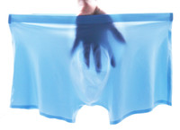 Wholesale Transparent Seamless Men Underwear - 2017 New Fashion Classic Soft Men's Underwear Sexy Transparent Pants Ice Silk Seamless Men's Boxer Silk Slip Penis Pouch for Men