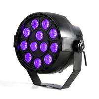 Wholesale Dj Light Uv - High Power 36W 12 LEDs Sound Active UV Led Stage Par Light Ultraviolet Led Spotligh Lamp for Disco DJ Projector Machine Party