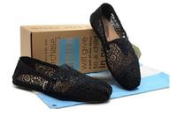 ingrosso scarpe ventilate-Vendita al dettaglio Scarpe da donna Estate Ventilate Scarpe da donna e da uomo Moda Mocassini Scarpe piatte Scarpe da donna Espadrille Taglia 35-40