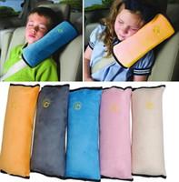 ingrosso cuscino della cintura-Baby Car Auto Safety Seat Cintura Harness Coprispalle Cover Protezione Bambini Coprisedili Cuscino Supporto auto copre IC519