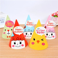 Baby Girls Birthday Crown Girls Glitter Cone shape Hairband Kids glitter Birthday Headbands Party Supplies Аксессуары для волос из тиары Hat.