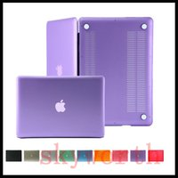 "Wholesale macbook pro body - Matte Front + Back Full Body Hard Case Cover for Macbook 15.4"" 13.3 11.6 Retina Air Pro White Netbook"