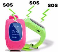 Wholesale Cheapest Fitness Wrist Watches - Popular design cheap smart kids watches Q50 children smart watch