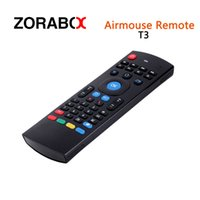 Wholesale Android Game Player Tv - Wireless Keyboard Remote Air Mouse T3M Microphone Suitable For Computer Android Smart Tv Box Media Player Pad Android Stick Game Consoles