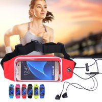 Wholesale Chinese Waterproof Phone - Waterproof Phone Case for Iphone 7 7P 7plus Outdoor Running Sport Water Resistant Waist Bag for Samsung Xiaomi Nokia 4.4&5.5 Inch
