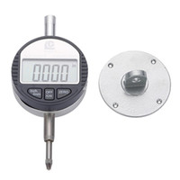 Wholesale Micrometer Test - Freeshipping Digital Dial Indicator 0-12.7mm 0.01 Electronic Test Gauge With Lug Back MM Inch Micrometer Measuring Tools