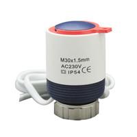 Wholesale Valve Actuator - BEOK 230V Normally Closed Electric Thermal Actuator Radiator for Manifold Underfloor Heating NC Radiator Actuator Valve RZ-BV230