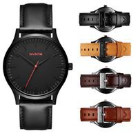 Wholesale Soft Calendar Watches - 2017 New Business Quartz watch Men sport Military Watches Men Soft Leather Strap army wristwatch clock hours Complete Calendar