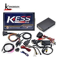 Wholesale Volvo Tool Kit - kESS V2 Newest V2.35 4.036 Hardware ECU chip tuning tool OBD2 Manager Tuning Kit AutoECU programmer DHL free Shipping