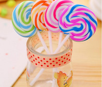 Wholesale lollipop erasers for sale - Group buy New Design Cartoon Erasers Candy Funny Rubber Eraser Office and Study Kids Gifts Cute Stationery Novelty Lollipop Erasers