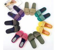 Wholesale Sandals Watermelon - luxury brand designer slippers for women 2017 New style Chain genuine leather channels outdoor beach sandals slipper with BOX