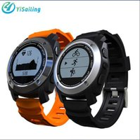 Wholesale Outdoor Gps Watches - YiSailing S928 Sport Smart Watch GPS Heart Rate Monitor Outdoor Smartwatch Air Pressure Altimeter Fitness Wristwatch For IOS Android