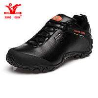 Wholesale Men Trekking Boots - XIANG GUAN Outdoor Waterproof Hiking Shoes Men Slip Resistant Shoes Climbing Women Walking Shoe For Lover Trekking Boots EUR 36-45