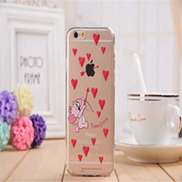 Wholesale Interesting Iphone Cases - News Cartoon Tom and Jerry Soft TPU transparent Case Cover interesting csae cover for iPhone 6 6s 6 6sPlus Free DHL